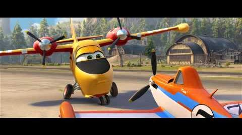 "Infernus2500/2 zwiastun filmu ""Planes Fire and Rescue"""
