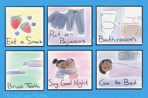 Illustrated Bedtime Schedule by MissLunaRose.png