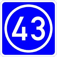 Knoten 43 blau