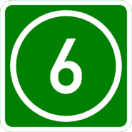 Knoten 6 grün