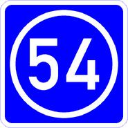 Knoten 54 blau