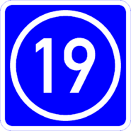 Knoten 19 blau