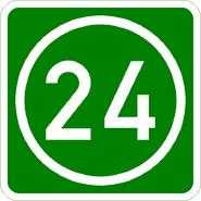 Knoten 24 grün