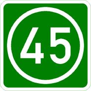 Knoten 45 grün