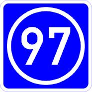 Knoten 97 blau