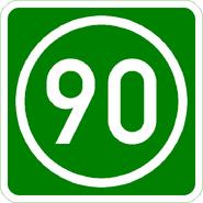Knoten 90 grün