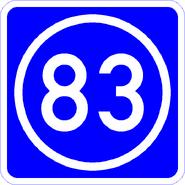 Knoten 83 blau