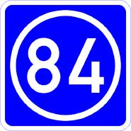 Knoten 84 blau