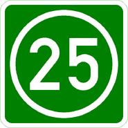 Knoten 25 grün