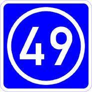 Knoten 49 blau