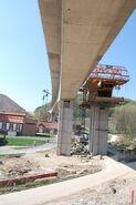 Bau Friedetalbrücke A38