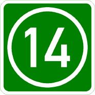 Knoten 14 grün