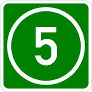 Knoten 5 grün
