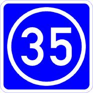 Knoten 35 blau