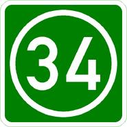 Knoten 34 grün