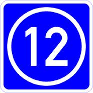 Knoten 12 blau