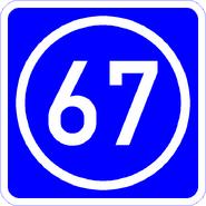 Knoten 67 blau