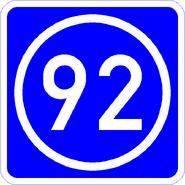 Knoten 92 blau