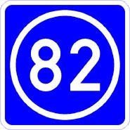 Knoten 82 blau