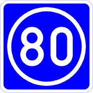 Knoten 80 blau