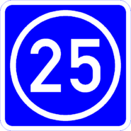 Knoten 25 blau