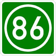 Knoten 86 grün
