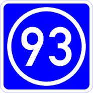 Knoten 93 blau