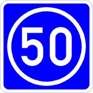 Knoten 50 blau