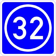 Knoten 32 blau