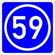 Knoten 59 blau