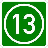 Knoten 13 grün