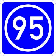 Knoten 95 blau