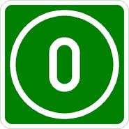 Knoten 0 grün