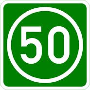 Knoten 50 grün