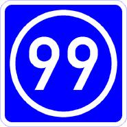 Knoten 99 blau
