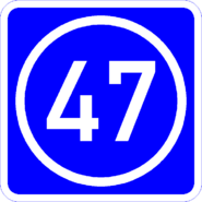 Knoten 47 blau