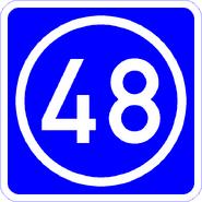 Knoten 48 blau