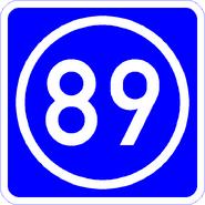 Knoten 89 blau