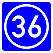 Knoten 36 blau