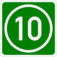 Knoten 10 grün
