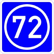 Knoten 72 blau