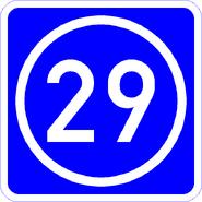 Knoten 29 blau