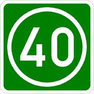 Knoten 40 grün