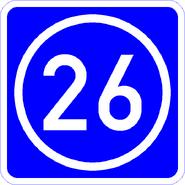 Knoten 26 blau