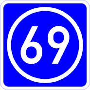Knoten 69 blau