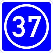 Knoten 37 blau