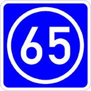 Knoten 65 blau