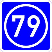 Knoten 79 blau