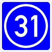 Knoten 31 blau