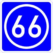 Knoten 66 blau